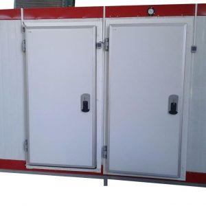 ساخت سفارشی سردخانه مواد غذایی متراژ مختلف