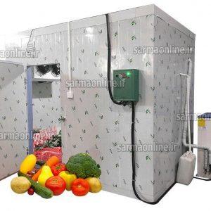 خرید سردخانه میوه جات با تجهیزات اصل