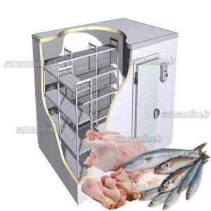 سردخانه با کیفیت مرغ و ماهی با بهترین قیمت