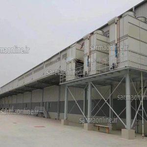 ساخت سردخانه ۳ هزار تنی با بهترین کیفیت