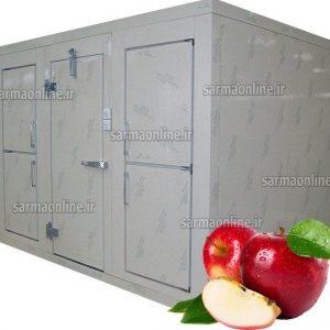 خرید سردخانه صنعتی نگهداری سیب