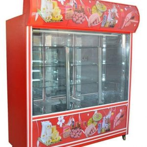 فروش ارزان یخچال ایستاده سوپری ۲ متری انباری دار